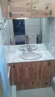 La salle de bain avant